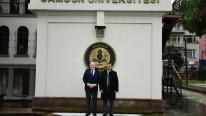 Vali Kaymak ve Rektör Aydın Samsun Üniversitesi'nde Okuyan Yabancı Öğrencilerle Buluştu